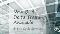 InfoSol has just launched a new series of BI 4 Delta training boot camps to meet the demand for training on the differences between BO XI 3.1 and