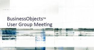 InfoSol Hosting Reigonal BO User Group Meetings