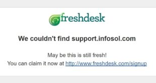 support.infosol.com is now help.infosol.com but it's not redirecting correctly