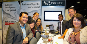 InfoSol's Booth at ASUG BIA 2016
