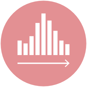 Dashboard Design Service Bar Icon Red
