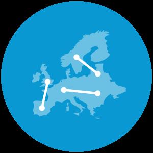 Dashboard Design Service Globe Icon