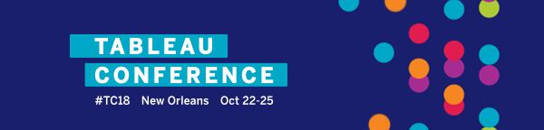 InfoSol Tableau Conference 2018 Banner