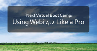 Using Webi Like a Pro Boot Camp