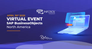 Join InfoSol in the SAP BusinessObjects North America Virtual Event