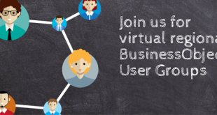 Register for the Virtual BusinsesObjects User Group