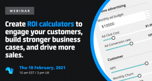 Squirrel Webinar Create ROI Calculators February 18 2021