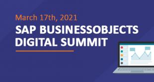 SAP BusinessObjects Digital Summit