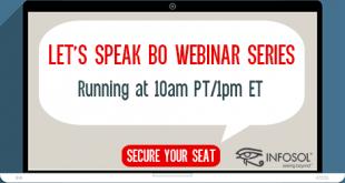 Let's Speak BO Webinar - Upcoming Event